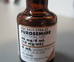 Furosemide Bottle