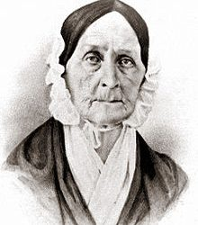 Barbara Fritchie was a Union loyalist during the Civil War (Photo from the Historical Society of Frederick County, Maryland)