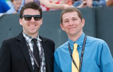 Jared Welch (left) and Aaron Halterman (right)