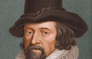 Francis Bacon (picture via www.biography.com)