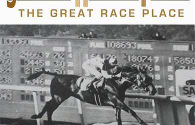 Seabiscuit wins the Big 'Cap at the Great Race Place