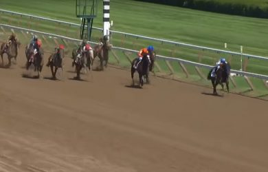 Drefong scored in wire-to-wire fashion in the King's Bishop.