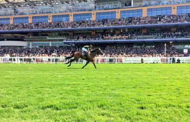 Lady Aurelia put in a dominant performance on the first day of the Royal Ascot Festival (photo via Ascot Racecourse).