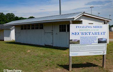 Secretariat's Foaling Shed (Tom Ferry)