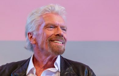 Richard Branson - Photo courtesy of Virgin.com