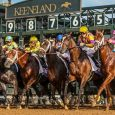 The start of the Blue Grass Stakes at Keeneland - Photo Courtesy of Michael Clevenger/Courier Journal