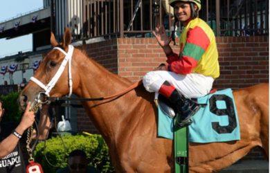 Jockey Luis Saez - Photo Courtesy of NYRA